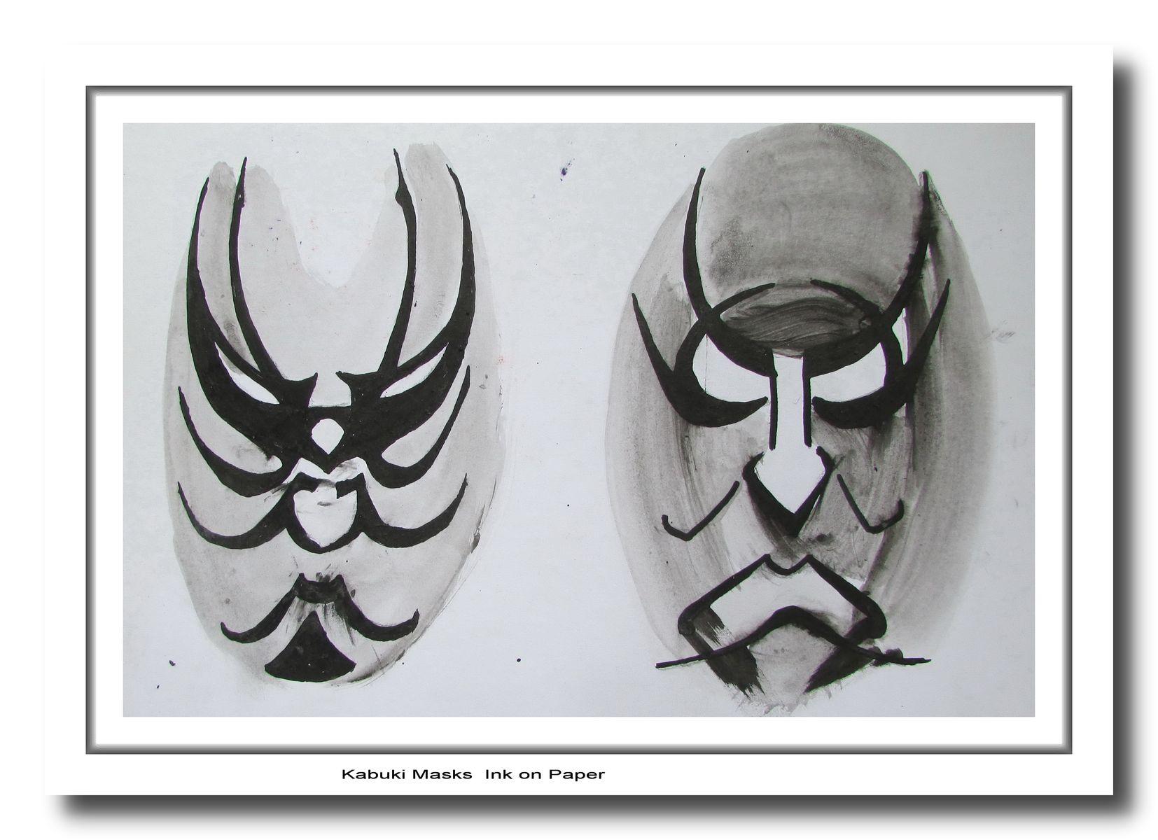 Kabuki Masks