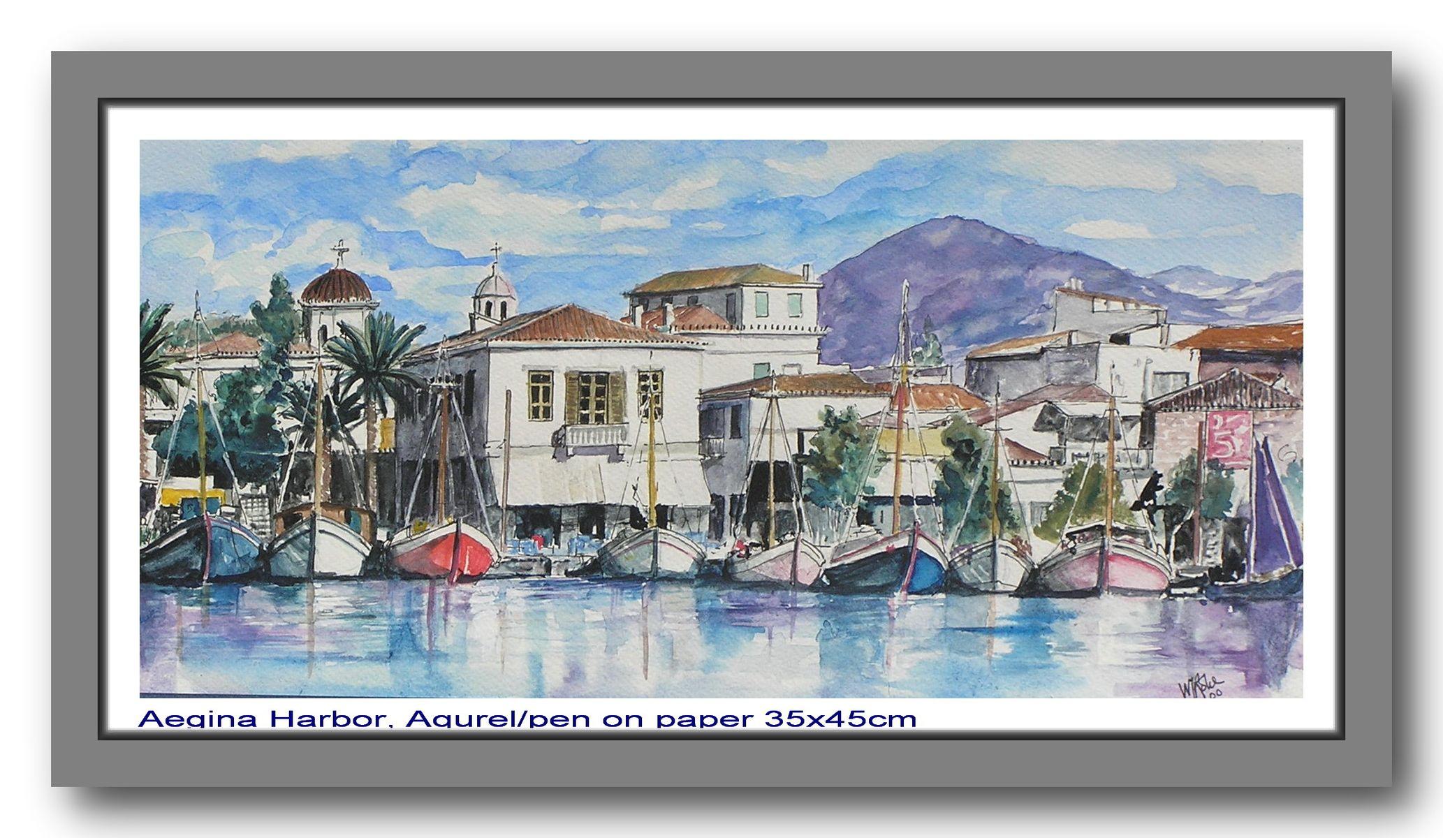 Aegina Harbor