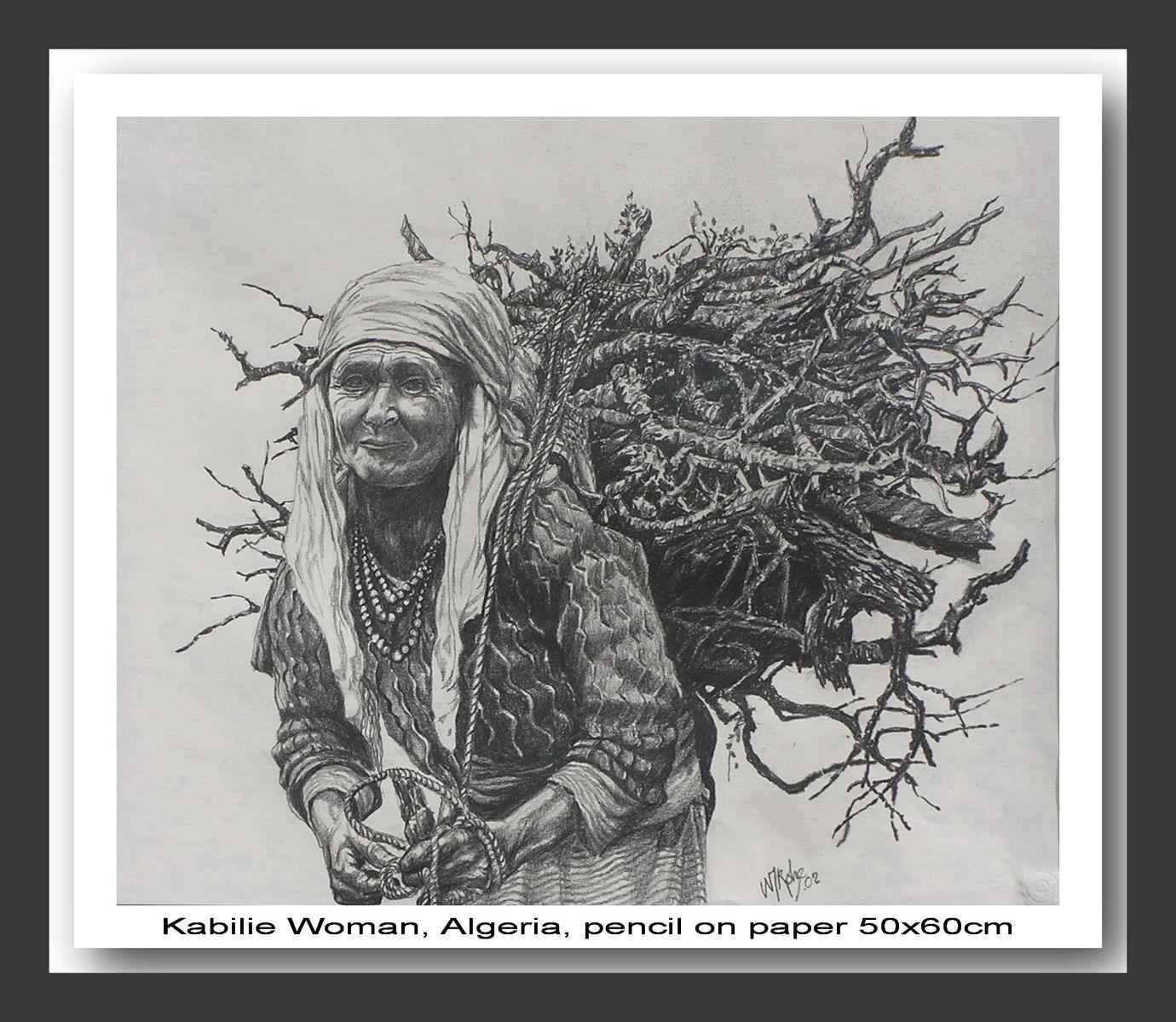 Kabilie Woman, Algeria