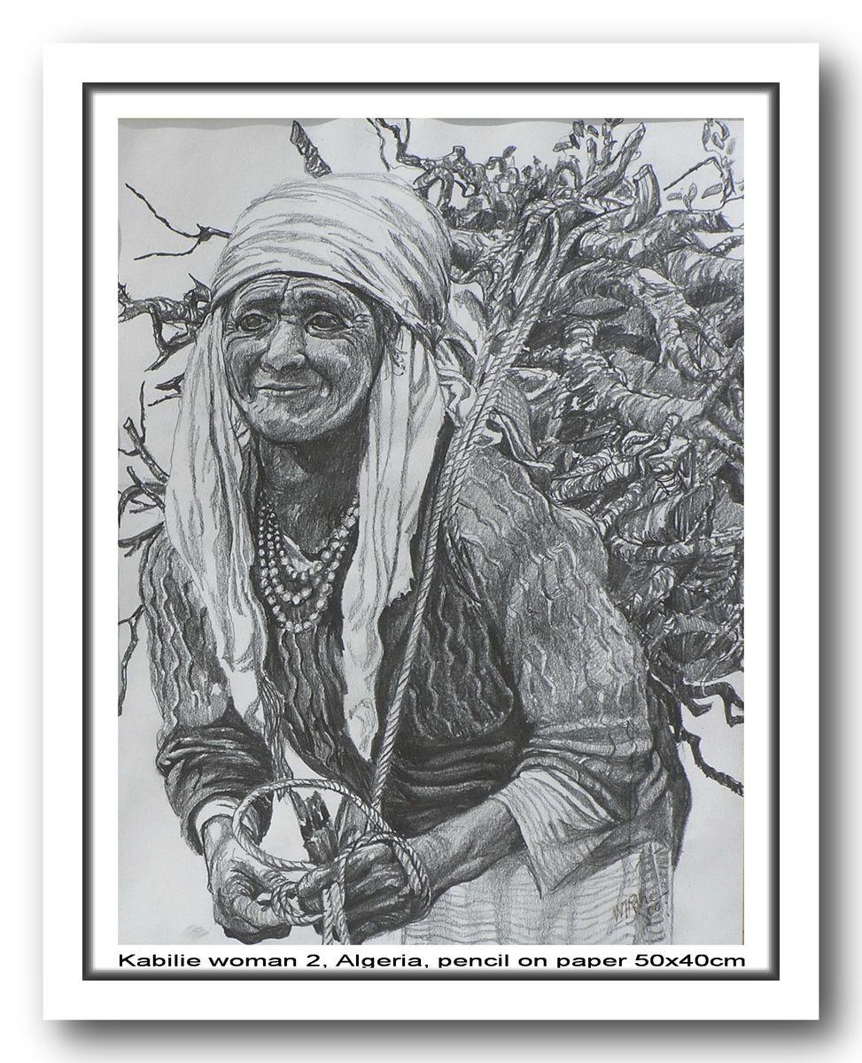 Kabilie Woman 2, Algeria